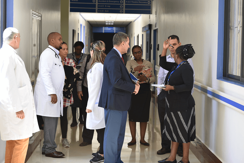 Cuban Doctors To Offer Specialist Services At Kenyatta University Hospital